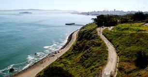 Del Golden Gate y más allá Foto de archivo libre de regalías