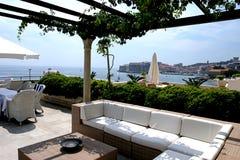 Del hotel salón al aire libre Imagenes de archivo