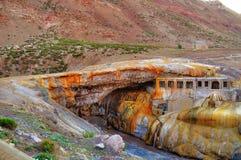 del inca puente Inca'sens bro royaltyfri foto