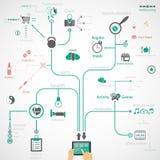  del infographicdel deporte Foto de archivo