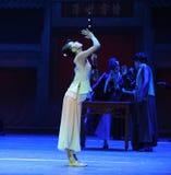 Del instrumento- el acto más precioso primero de los eventos del drama-Shawan de la danza del pasado Imágenes de archivo libres de regalías