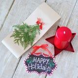 Del invierno todavía de las decoraciones vida Fotografía de archivo libre de regalías