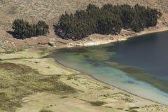 del isla κολλοειδές διάλυμα Νησί του ήλιου boleyn Λίμνη Titicaca Νότος Α στοκ φωτογραφία