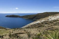 del isla κολλοειδές διάλυμα Νησί του ήλιου boleyn Λίμνη Titicaca Νότος Α στοκ εικόνες