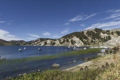 del isla sol Остров Солнця bolivians Озеро Titicaca Южное a стоковое фото rf