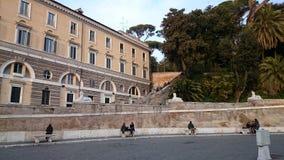 del Italy piazza popolo Rome Zdjęcie Stock