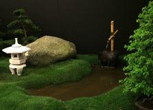 Del jardín todavía de las decoraciones vida japonesa Foto de archivo