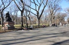 """""""Del jesieÅ de Nueva York del Central Park fotografía de archivo"""