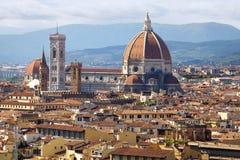 del katedralna panorama Fi Florence Maria Santa zdjęcia royalty free
