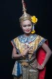 """ del """"Khon†di arte di dancing della Tailandia quel di alta classe del ballo nel Siam Fotografie Stock Libere da Diritti"""