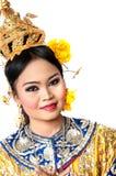 """ del """"Khon†di arte di dancing della Tailandia quel di alta classe del ballo nel Siam Fotografia Stock Libera da Diritti"""