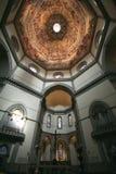 del kupol duomofiore maria santa Arkivbild