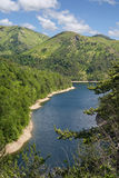 del lago Gorzente zdjęcia stock