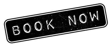 Del libro sello de goma ahora Foto de archivo libre de regalías