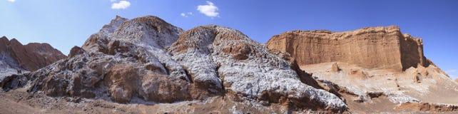 Del Luna - valle di Valle della luna, in atacama, peperoncino rosso Fotografia Stock