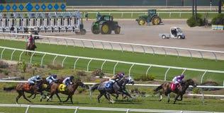 Del Mącący Tor wyścigów konnych, Kalifornia Zdjęcia Royalty Free