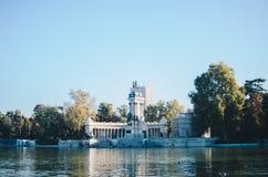 del Madrid parque retiro Zdjęcie Stock