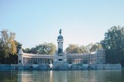 del Madrid parque retiro Obrazy Stock