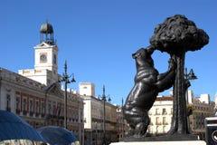 del Madrid puerta zol Obrazy Royalty Free