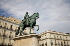 del Madrid puerta zol Zdjęcia Stock