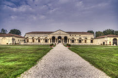 del mantua palazzo te Στοκ φωτογραφία με δικαίωμα ελεύθερης χρήσης