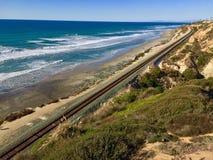Del Mar beach. Dec. 26, 2015 royalty free stock images