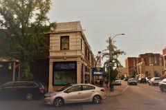 Del Mar Loop St Louis Missouri fotografering för bildbyråer
