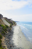 Del Mar Public Beach Royalty Free Stock Photography