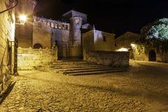 Del Mar santillana 桑坦德 坎塔布里亚 西班牙 免版税库存照片