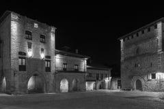 Del Mar santillana 桑坦德 坎塔布里亚 西班牙 免版税库存图片