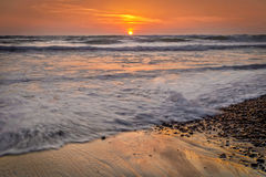 Del Mar Sunset, California Fotografie Stock