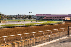 Del Mar Thoroughbred Racing Venue Royalty Free Stock Images