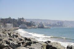del mar vina plaży Obraz Royalty Free