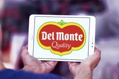 Del Monte Foods företagslogo Arkivbild