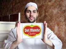Del Monte Foods företagslogo Royaltyfri Fotografi