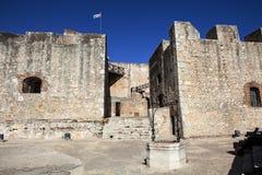 Del Morro Castillo de San Pedro de Ла Roca в Сантьяго-де-Куба - Кубе Стоковые Изображения RF