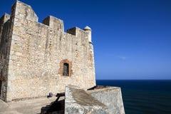 Del Morro Castillo de San Pedro de Ла Roca в Сантьяго-де-Куба - Кубе Стоковая Фотография