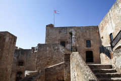 Del Morro Castillo de San Pedro de Ла Roca в Сантьяго-де-Куба - Кубе Стоковая Фотография RF