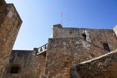 Del Morro Castillo de San Pedro de Ла Roca в Сантьяго-де-Куба - Кубе Стоковое фото RF