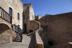 Del Morro Castillo de San Pedro de Ла Roca в Сантьяго-де-Куба - Кубе Стоковые Фото