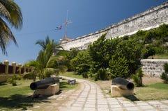 Del Morro del Castillo de los Tres Reyes Fotografia Stock