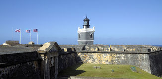 Del Morro Light Royalty Free Stock Photography