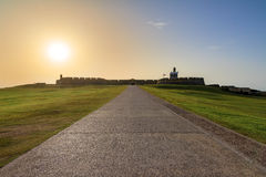 Del Morro sunset Royalty Free Stock Images