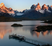 del Obywatel paine parka patagonia torres obrazy stock