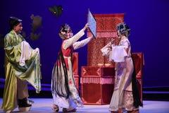 """ del oeste abrigado de Chamber†del """"the de la ópera del secreto-Kunqu foto de archivo libre de regalías"""