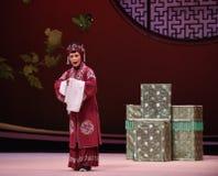 """ del oeste de Chamber†del """"the de la ópera de la decisión-Kunqu de la señora mayor foto de archivo"""