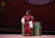 """ del oeste de Chamber†del """"the de la ópera de la decisión-Kunqu de la señora mayor foto de archivo libre de regalías"""