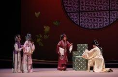""" del oeste de Chamber†del """"the de la ópera de la oferta-Kunqu de la boda del estilo chino fotos de archivo libres de regalías"""