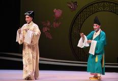 """ del oeste de Chamber†del """"the de la ópera de Zhang Sheng y del monje-Kunqu imagen de archivo libre de regalías"""