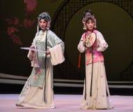 """ del oeste de Chamber†del gran de la señora del jardín de las actividades-Kunqu """"the de la ópera imágenes de archivo libres de regalías"""